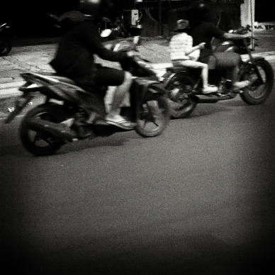 Denpasar in Black & White
